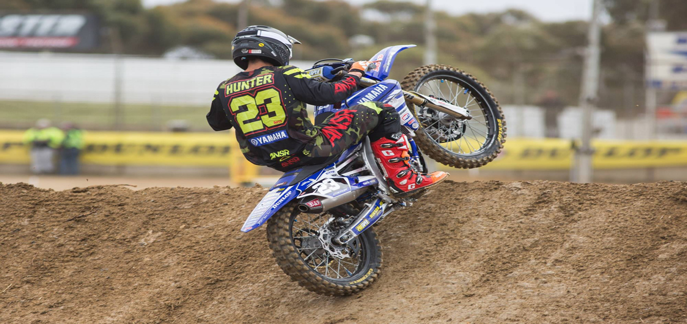 Hunter Ruled out of Supercross Finale