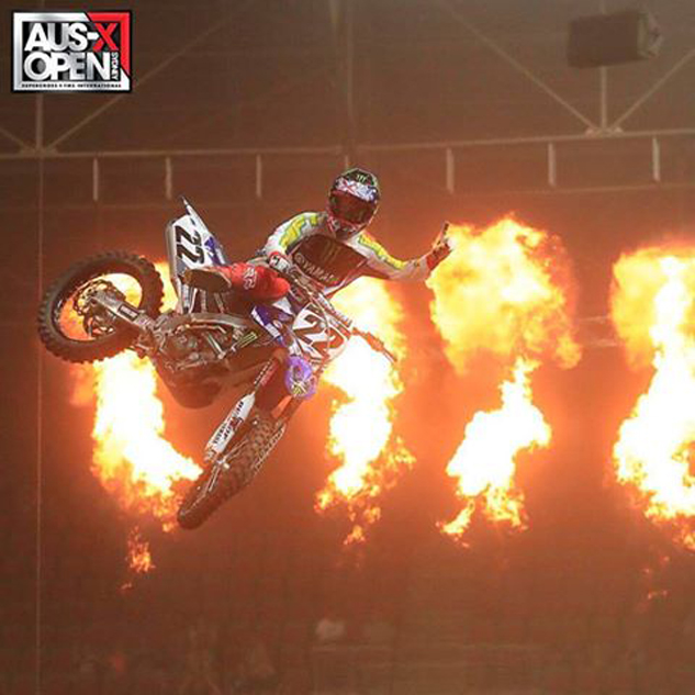 Chad Reed Clean Sweeps 2016 AUS-X Open