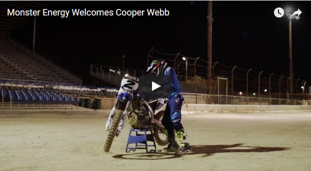 Video: Monster Energy Welcomes Cooper Webb