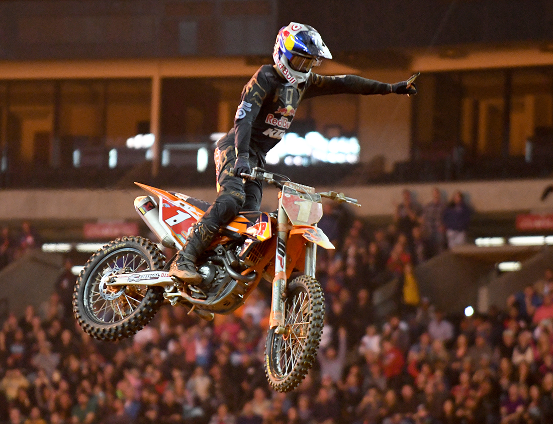 Ryan Dungey - Red Bull KTM wins the Main Event  at the 2017 Monster Energy Supercross event in Atlanta.