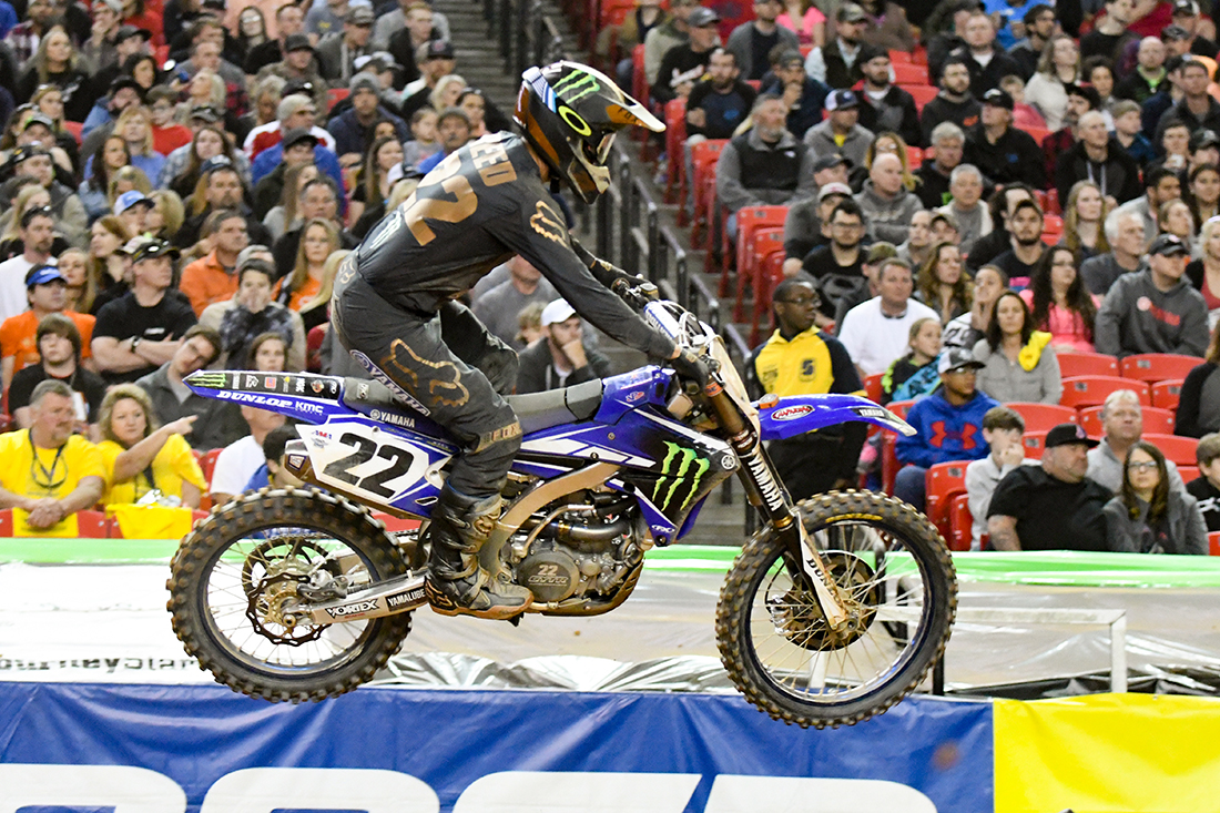 Chad Reed - Monster Energy Factory Yamaha during the Main Event  at the 2017 Monster Energy Supercross event in Atlanta.