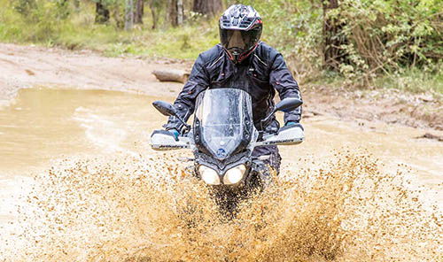 ADVENTURE TIP: RIDING THROUGH MUD HOLES