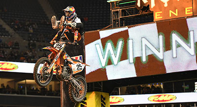 Marvin Musquin wins Seattle AMA Supercross