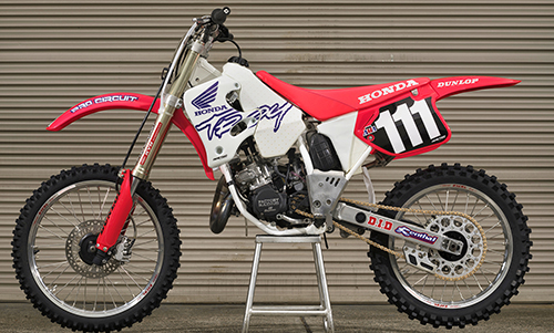 Honda Of Troy >> Feature 1995 Honda Of Troy Cr125 Dirt Action