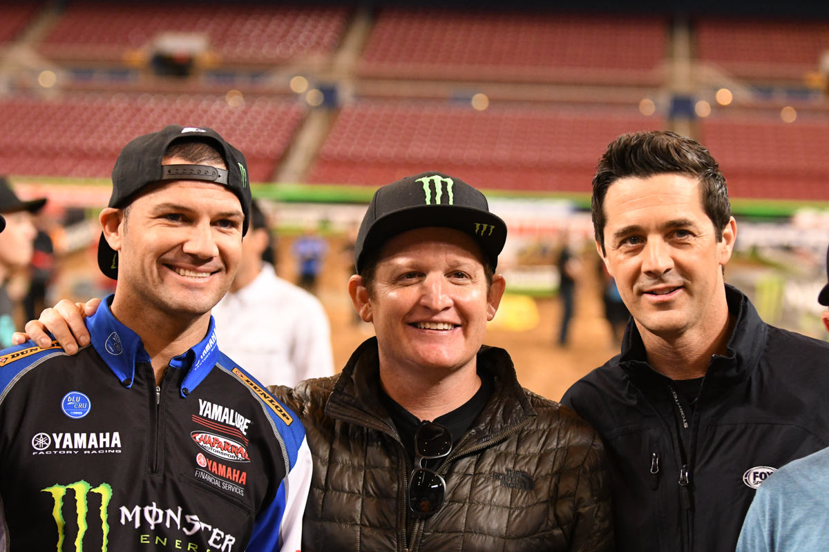 The Champion's Club photo at the St Louis Monster Energy Supercross.