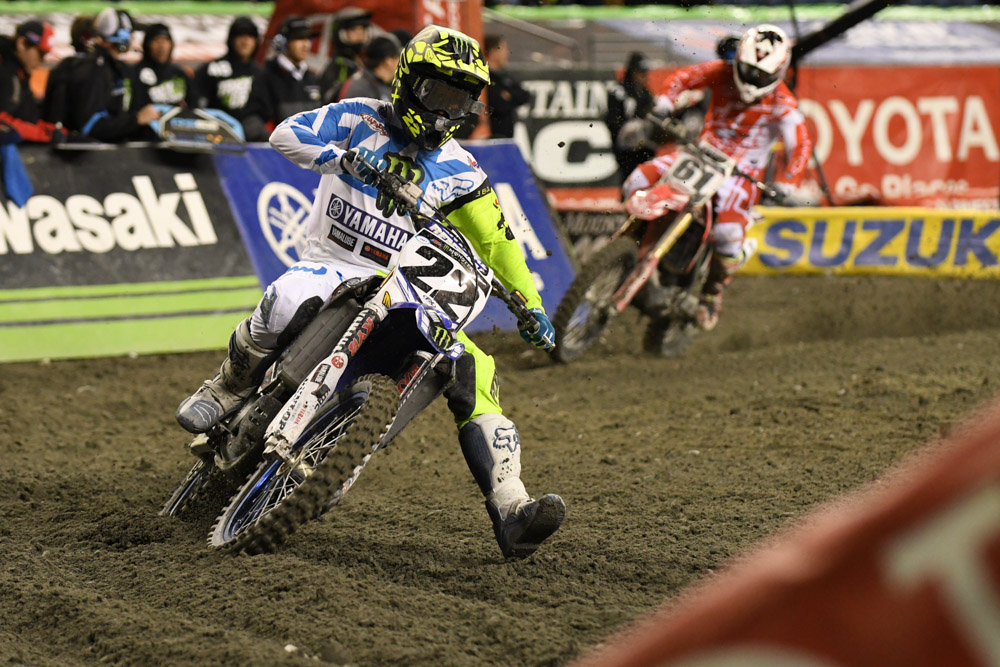 Chad Reed - Monster Energy Factory Yamaha finished a solid 9th at the Seattle Monster Energy Supercross.