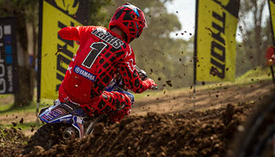 DEAN FERRIS FORGES AHEAD AT MX NATIONALS