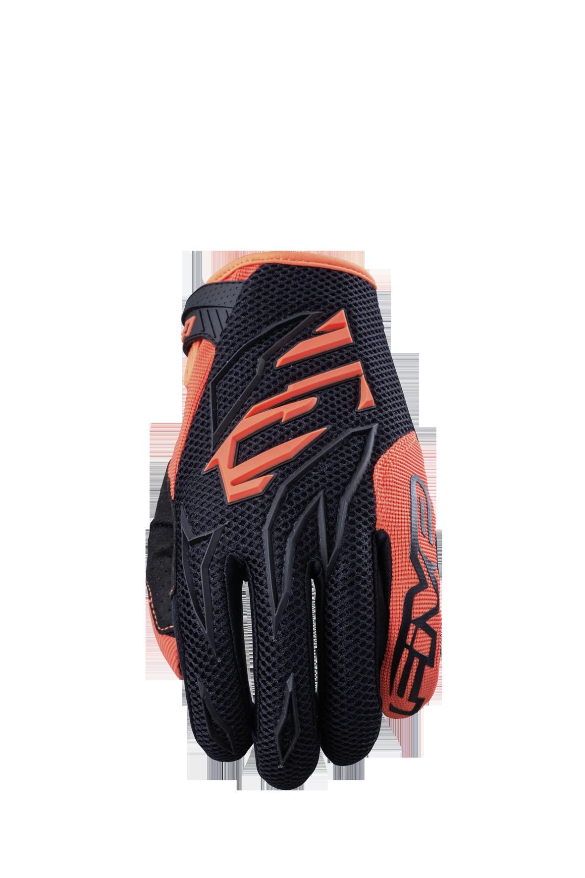 MXF 3 Black Fluro Orange
