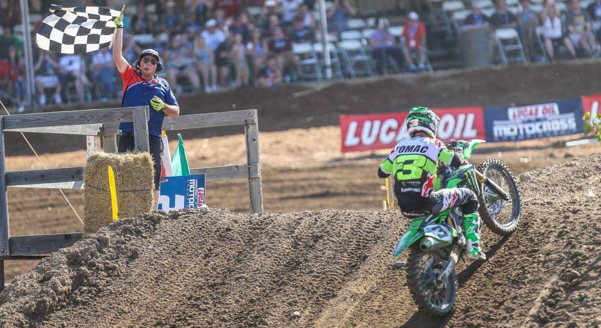 450MX: ELI TOMAC FIGHTS HARD FOR 1-1 SWEEP AT HANGTOWN