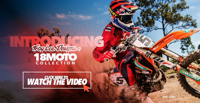 VIDEO: 2018 TROY LEE DESIGNS || MOTO COLLECTION