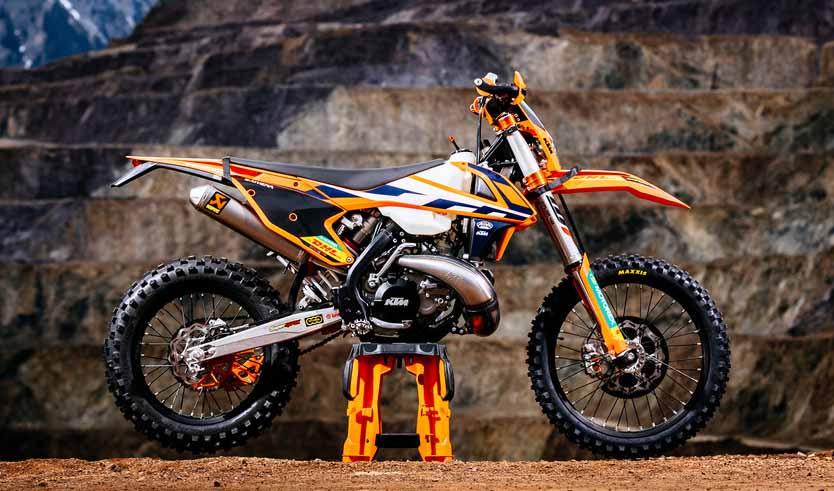 PHOTO GALLERY: 2018 KTM EXC Powerparts bike