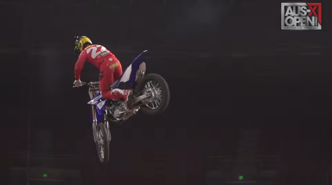 VIDEO: Chad Reed on a YZ250 – AUS X OPEN