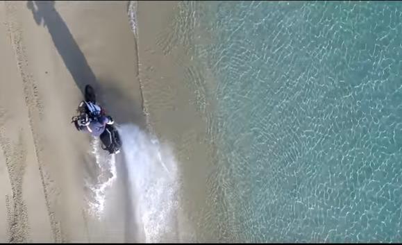 VIDEO: KTM 1090 Adventure R in Naxos, Greece