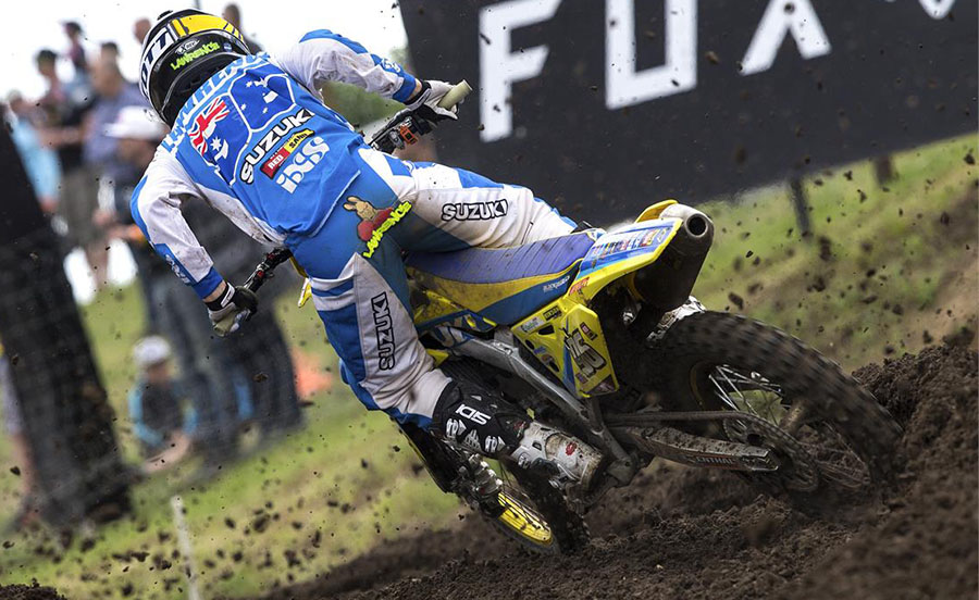 Australian Hunter Lawrence finishes second at MXGP of Germany