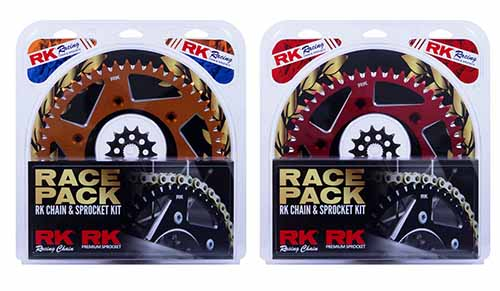 NEW PRODUCT: RK Racing Chain & Sprocket Kit for MX Range
