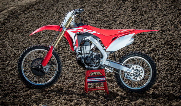 BIKE TEST 2017 HONDA CRF450R