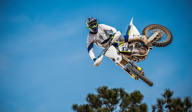 PR: MASSIVE NUMBER ONE RUN OUT FOR HUSQVARNA