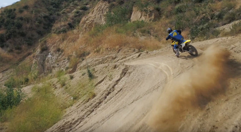 VIDEO: RICKY CARMICHAEL RIDES THE 2018 SUZUKI RM-Z450