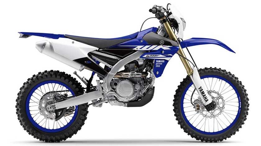 2018 Yamaha WR450F and WR250F