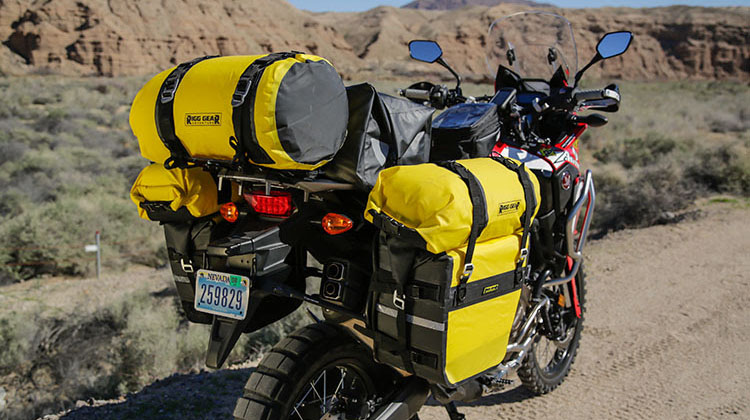 NEW PRODUCT: NELSON-RIGG ADVENTURE DRY ROLL BAGS