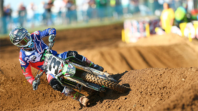 VIDEO: AMA MOTOCROSS, 450MX RED BUD MOTO 1 AND 2