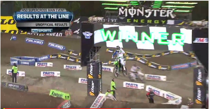 VIDEO: CHAD REED HOLDS OFF KEN ROCZEN TO WIN!