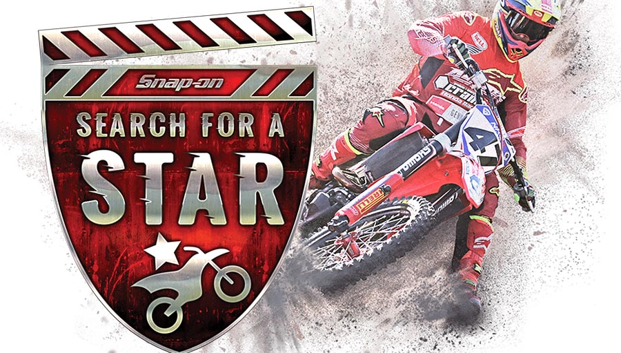 SNAP-ON SEARCH FOR A MOTOCROSS STAR