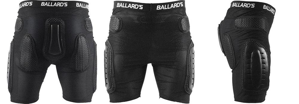 Ballards Vented Protection Shorts (Rear)