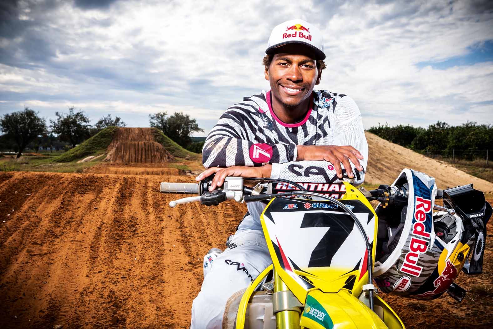 James Stewart poses for a portrait following a training session at his home track, the Ponderosa, in Haines City, FL, USA on 21 November, 2014. // Garth Milan/Red Bull Content Pool // P-20141203-00137 // Usage for editorial use only // Please go to www.redbullcontentpool.com for further information. //