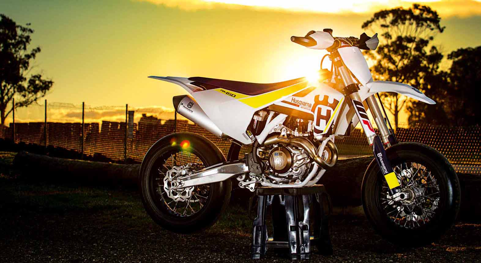 BIKE TEST: HUSQVARNA FS450