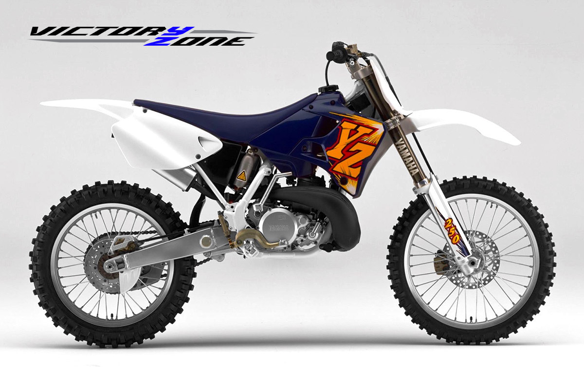 VICTORY ZONE: YZ /YZ-F - A BRIEF HISTORY OF TIME