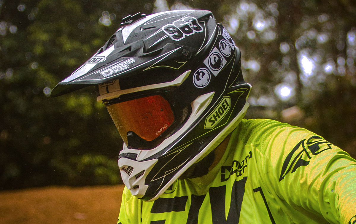 PRODUCT REVIEW: SHOEI VFX-W HELMET