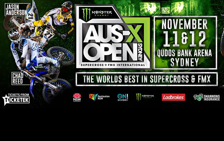 AUS X OPEN SUPER BOX TICKETS NOW AVAILABLE