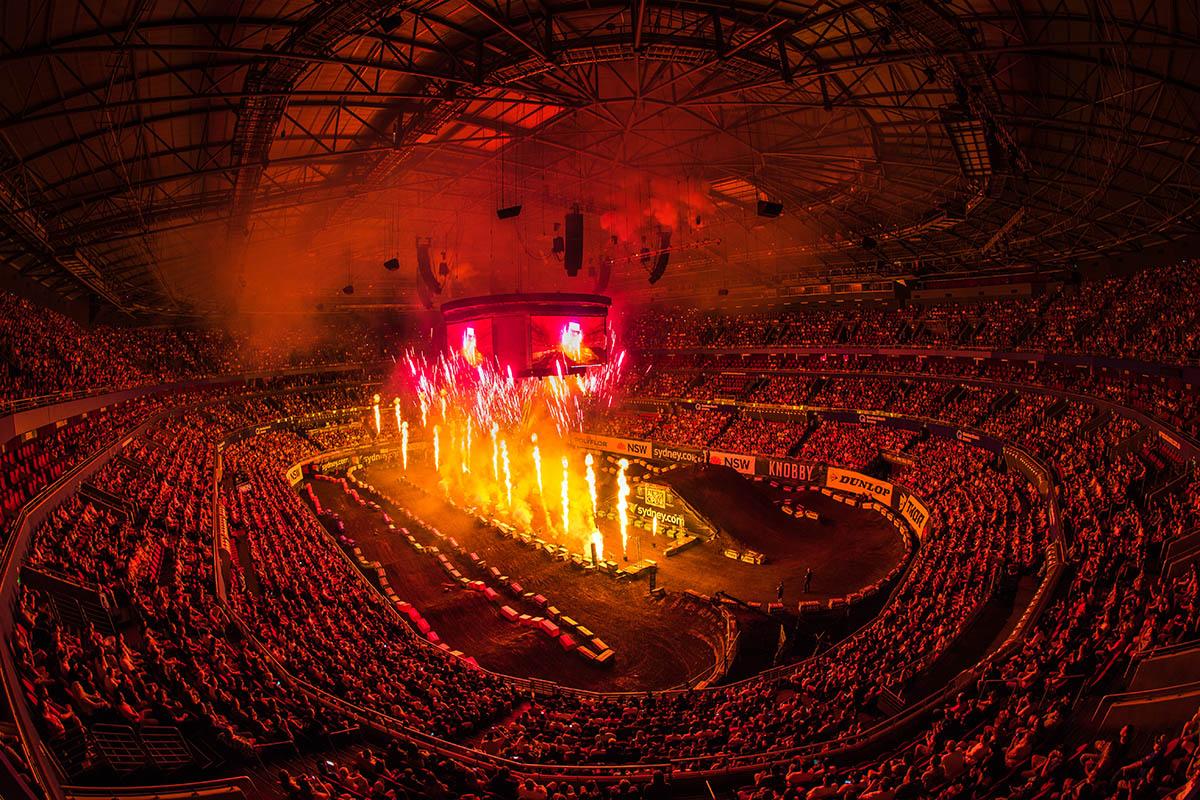 2017 Monster Energy AUSX Open. Qudos Bank Arena, Sydney, New South Wales, Australia. Saturday 11th November to Sunday 12th November 2017. World Copyright: Daniel Kalisz Photographer Ref: Digital Image DSC_9018.NEF