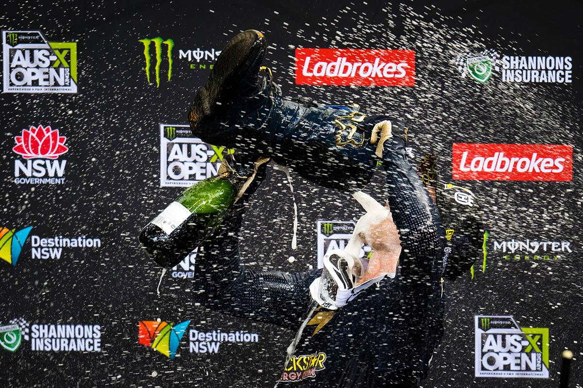 2017 Monster Energy AUSX Open. Qudos Bank Arena, Sydney, New South Wales, Australia. Saturday 11th November to Sunday 12th November 2017. World Copyright: Daniel Kalisz Photographer Ref: Digital Image DSC_8368.NEF
