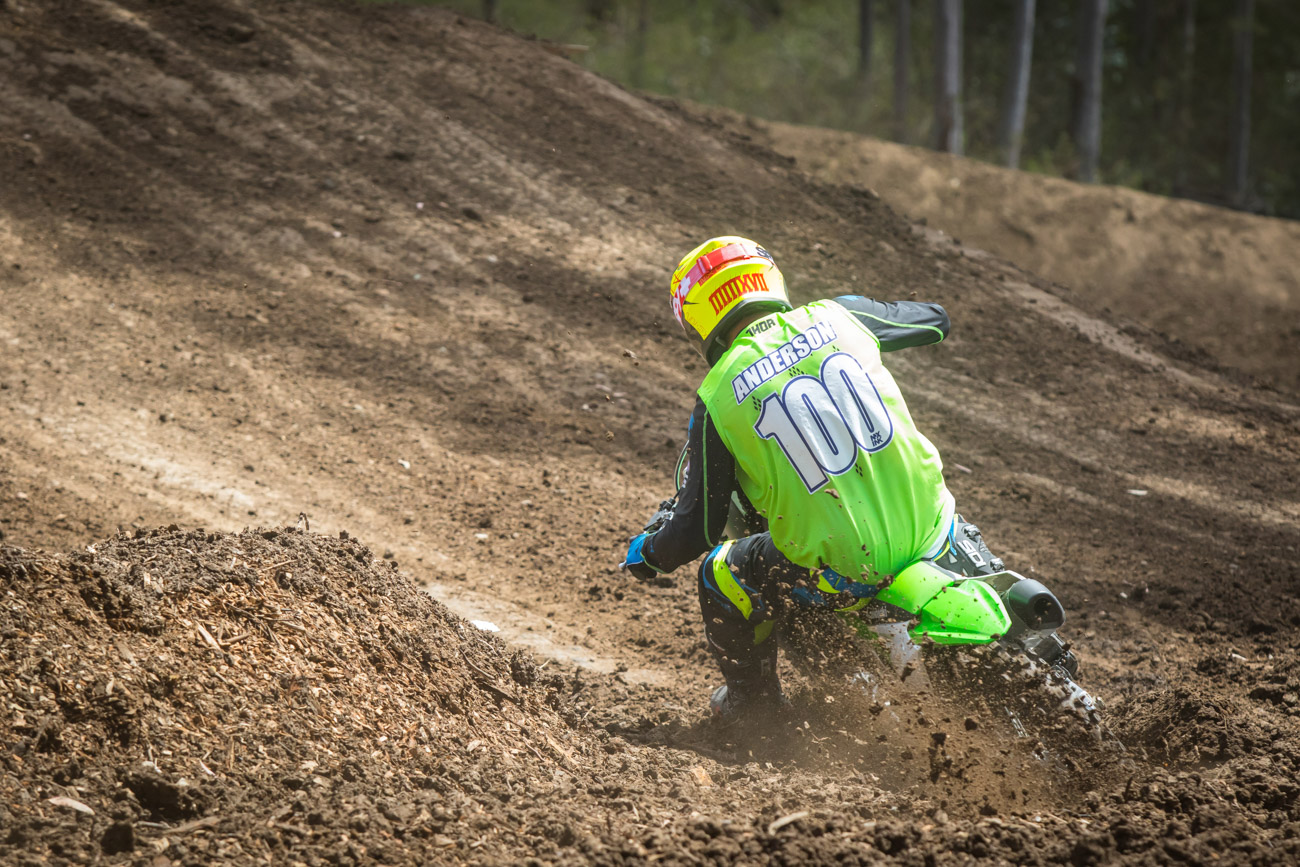 12-Time Australian Champion Craig Anderson on the KX450F.