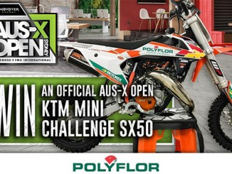 WIN A KTM50SX AT AUS X OPEN