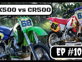 VIDEO: KAWASAKI KX500 VS HONDA CR500